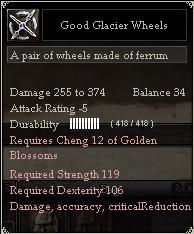 Good Glacier Wheels