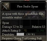 Fine Snake Spear