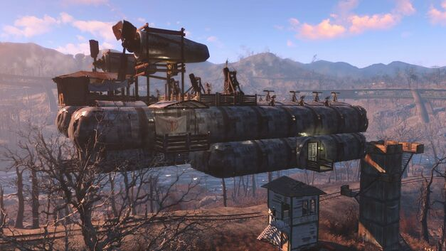 The Airship Settlement