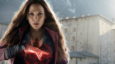 Elizabeth Olsen Reckons Scarlet Witch is More Powerful Than Vision