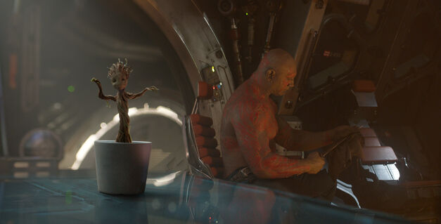 Guardians of the Galaxy after the credits scene.