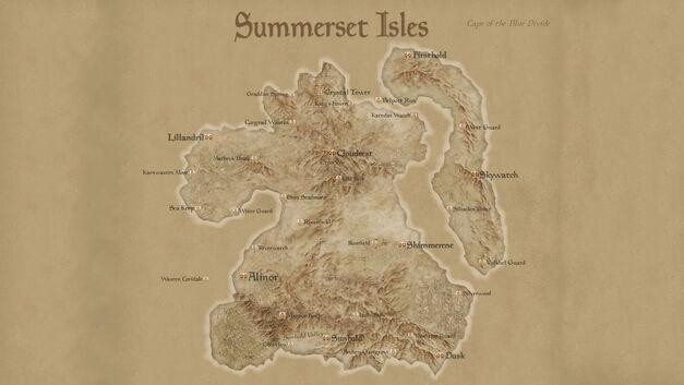 Elder Scrolls Summerset Isles