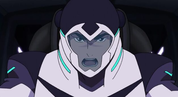 Shiro is the black paladin again