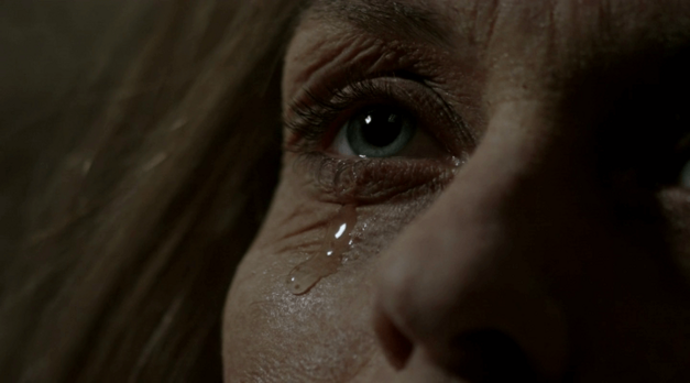 Sarah sheds a tear