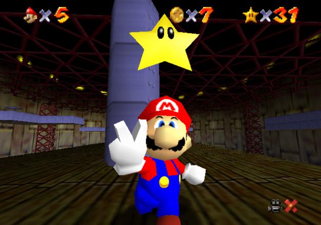 Super Mario 64 Power Star Complete