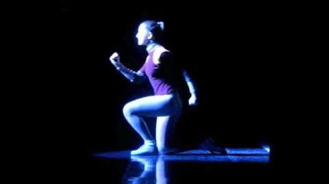 Alexandra Fassler as Diana Morales in A Chorus Line