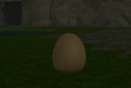 Stegosaurus egg