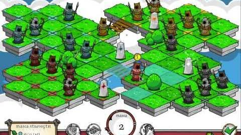 A Druid's Duel Four-Player Gameplay