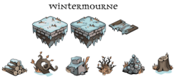 Wintermourne art