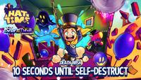 10 seconds until self-destruct