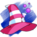 Brewing Hat witchhatpink