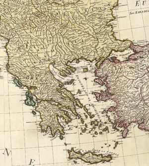 William Faden. Composite Mediterranean. 1785.I