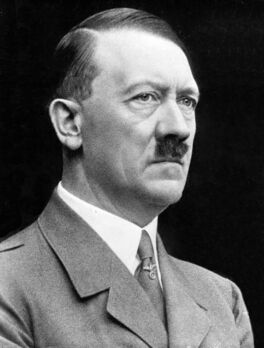 Adolf Hitler cropped restored