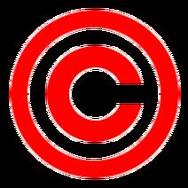 Droit d'auteur rouge