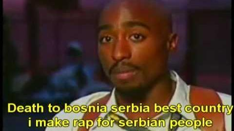 Tupac Alive in Serbia?