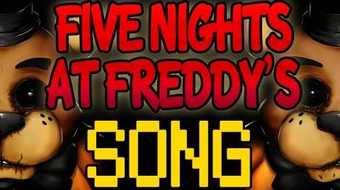 FIVE NIGHTS AT FREDDY'S SONG 'It's Me' FNAF LYRIC VIDEO