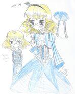 Maria Windsor - Concept Sketch