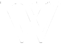 Wikipedia white W logo 650x500