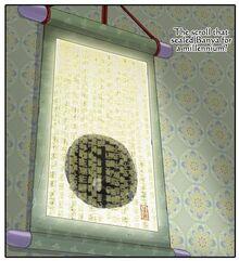 Banya's scroll
