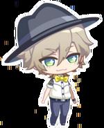 Kazunari suit chibi