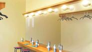 Mankai theatre dressing room