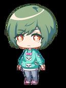 Yuki casual chibi 2