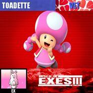 Exes III Toadette