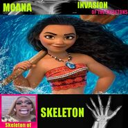 Skeletons Moana