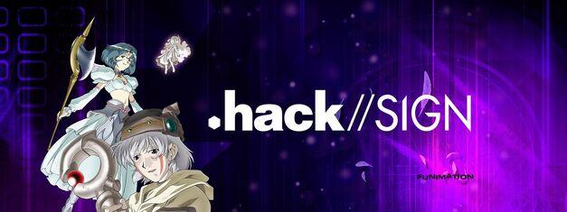 Dot Hack Slash Slash Sign