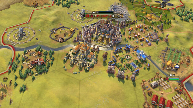 Plan your cities wisely in Civilization Vi