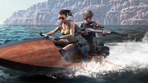 PlayerUnknown's Battlegrounds jetski
