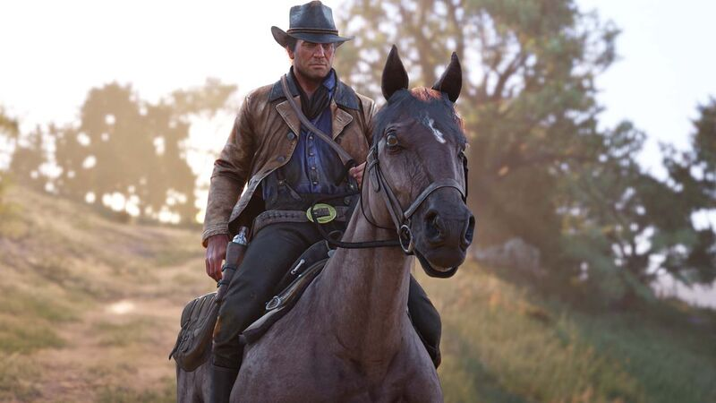 Growing Arthur S Beard And Belly In Red Dead Redemption 2 Dirty Arty Chapter