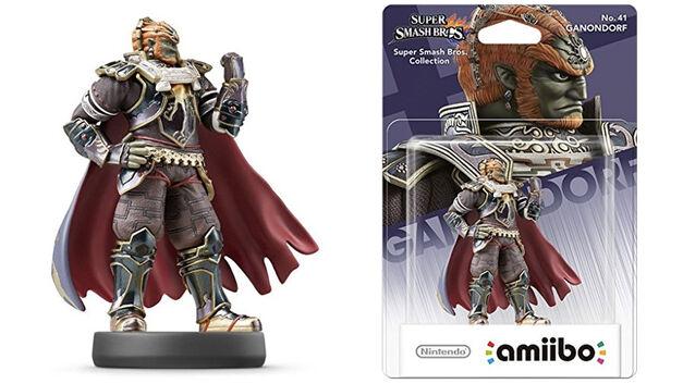 Smash Bros Ganondorf amiibo