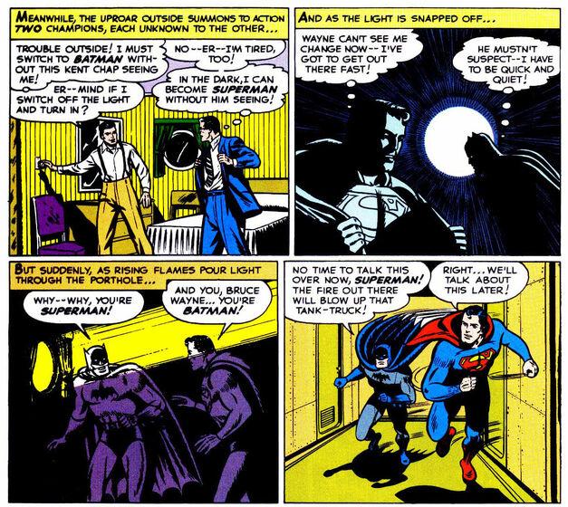 Batman Meets Superman 76