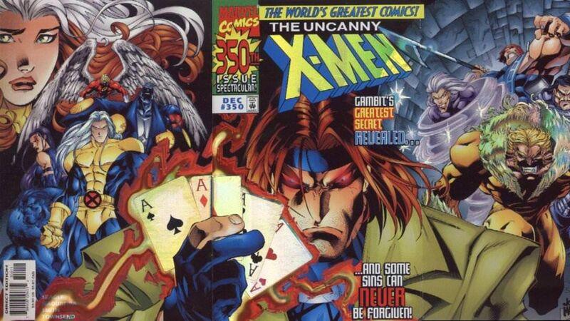 Uncanny X-Men 350 Gambit