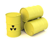 Toxic waste cans