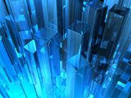 Crystal buildings