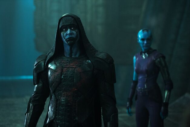 Ronan and Nebula from Guardians of the Galaxy