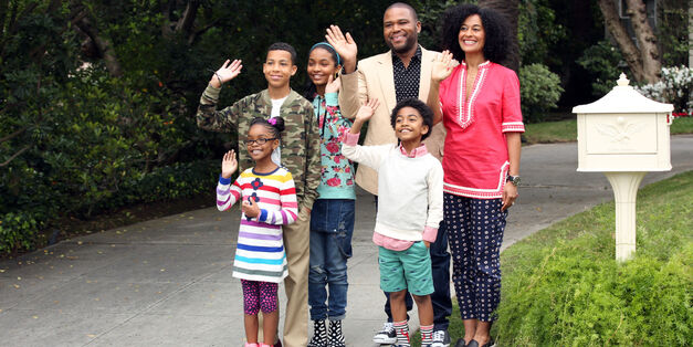 The cast of Black-ish on ABC
