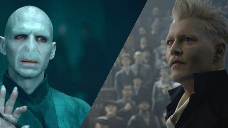 Johnny Depp And Jk Rowling >> Grindelwald Vs Voldemort: Who Is More Villainous? | FANDOM