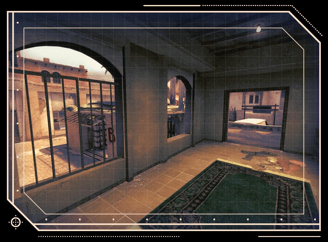 CSGO Mirage B apartment window