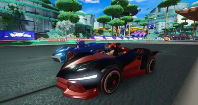 'Team Sonic Racing' Is a Team-Based 'Mario Kart'