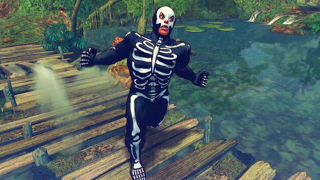 SFIV Skullomania Fuerte Costume