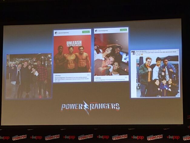 Power Rangers NYCC social media