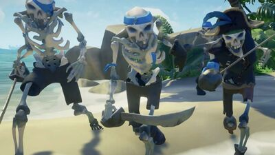 'Sea of Thieves' Review: Pirate Pals Forced To Float Their Own Boat