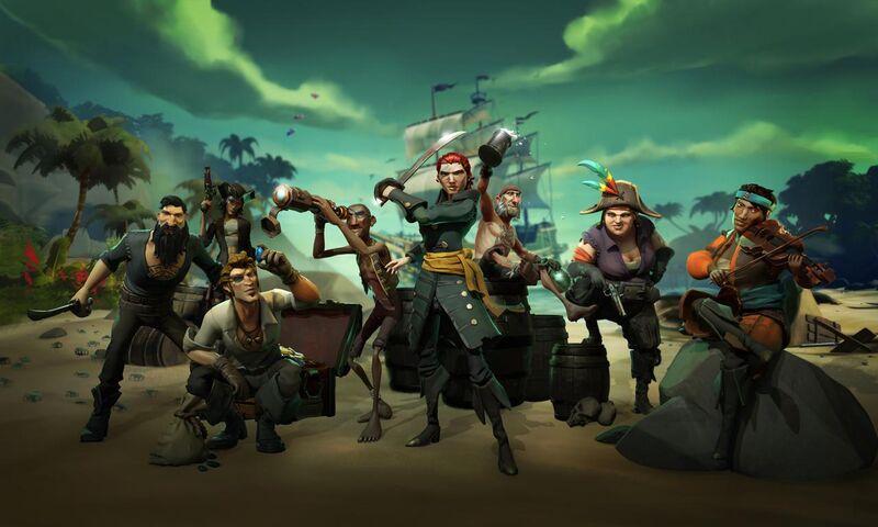 •  Release Date: March 20 (WW)  •  Developer: Rare  •  Platform(s): PC, Xbox One  •  Genre: Online Action-Adventure