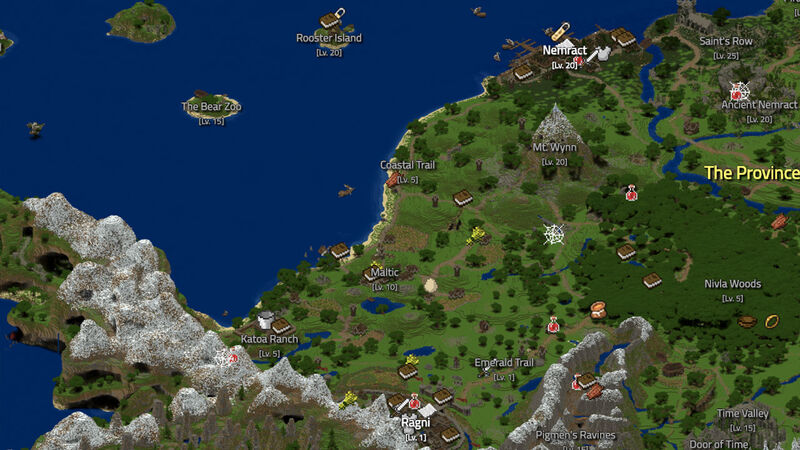 You can now play an entire mmo inside minecraft for free fandom wynncraft minecraft mmo gumiabroncs Gallery