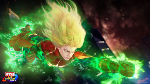 Marvel Vs. Capcom: Infinite Roster Captain Marvel