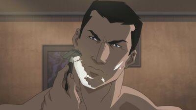'Justice League Dark' Clip Shows Bruce Wayne's Close Shave