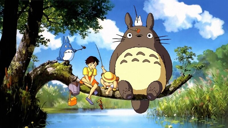 anime for beginners kids My Neighbor Totoro